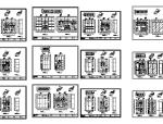 [超全]上百套精品鞋柜、书柜、衣柜、橱柜CAD图库合集