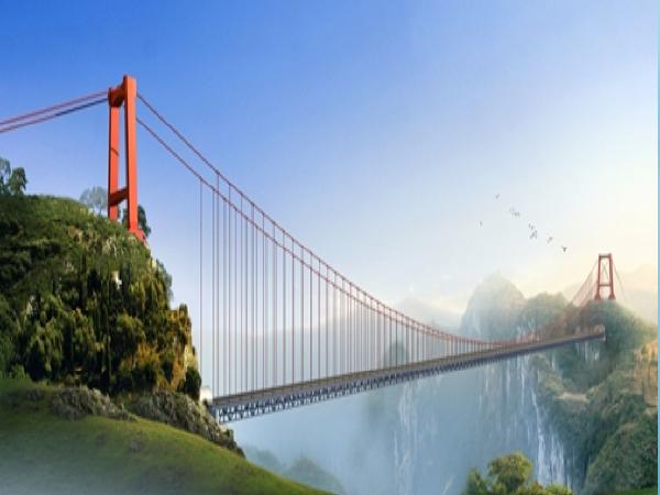 悬索桥加劲梁轨索滑移法架设施工工法