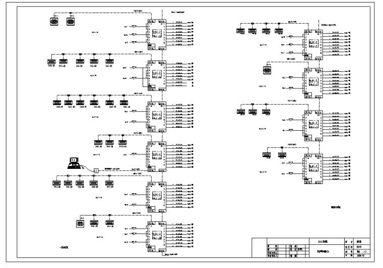 内蒙古体育馆智能照明系统全套图纸_5