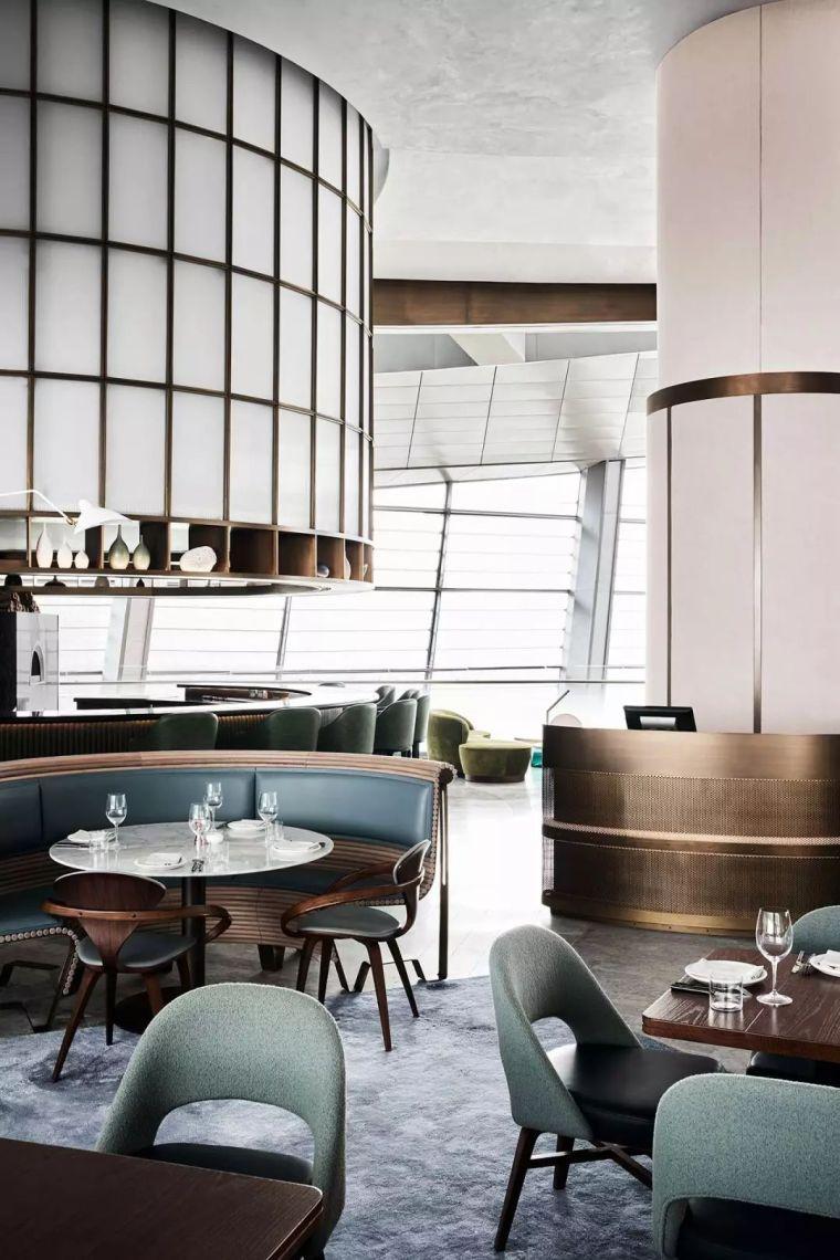 迪拜地标旁的2000平米超大餐厅,精致细节成就奢华设计_15