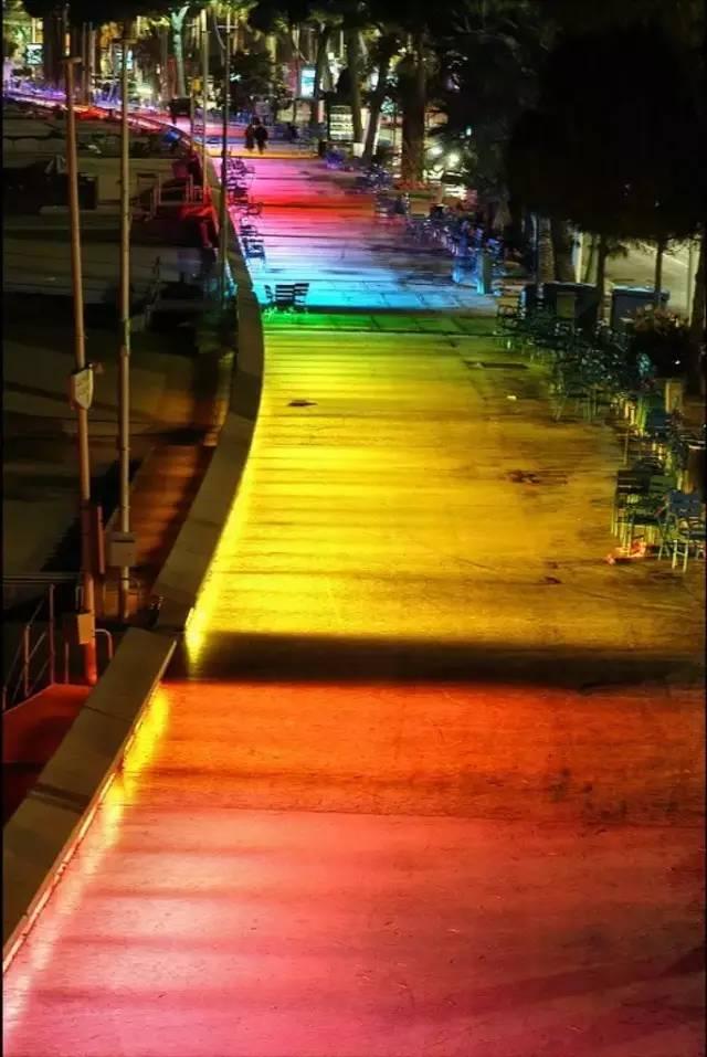 景观灯光设计。当灯光碰上景观,浪漫的夜晚就开始了!_24