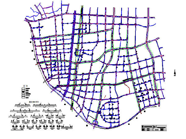 道路工程施工图纸(共133张)_1