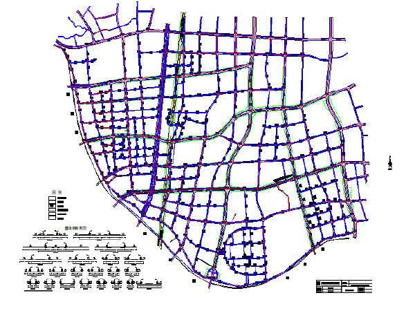 城市支路道路工程施工图纸(共133张)