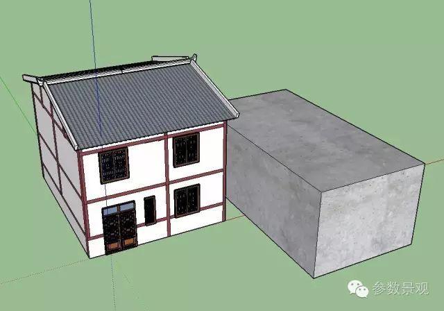 VRay的建筑室外渲染资料下载-关于Vray for sketchup无法渲染的一种情况