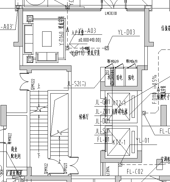 南京某公馆二期给排水施工图_6