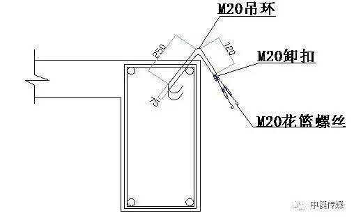 悬挑型钢卸料平台施工方案_5
