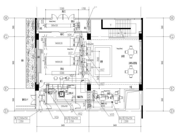 [上海]国际金融中心暖通施工全套图(含冷热源、空调系统、机械通风与排烟系统与节能设计)_3