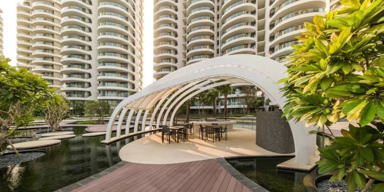 新加坡Cape Royale滨海住宅