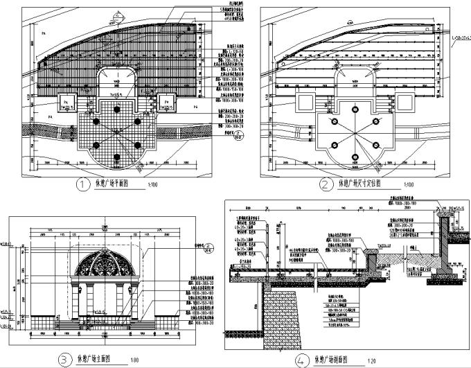 [重庆]竹林片区高端生态住宅环境景观设计全套施工图