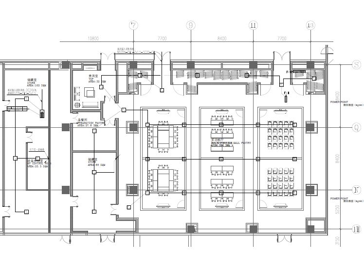 虹桥万科中心会议中心精装修&二次机电图