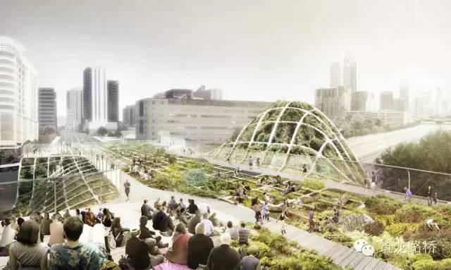 这才是真正高逼格的桥梁设计,未来感爆棚!