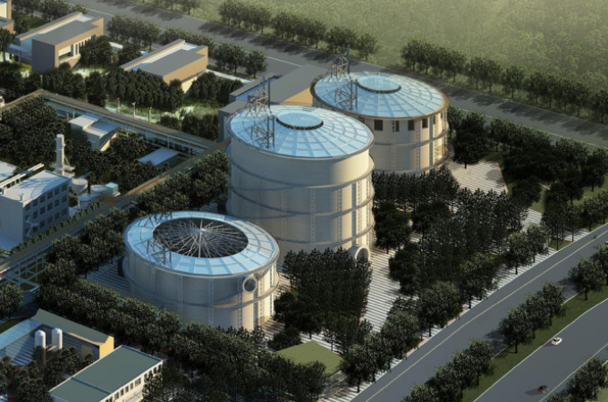 [山西]工业遗产煤气厂改造景观观光园设计方案