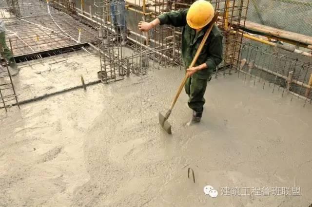 7步,做好楼板混凝土收面