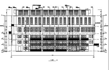 [重庆]吊四层特殊教育中心建筑施工图(16年全专业图纸)