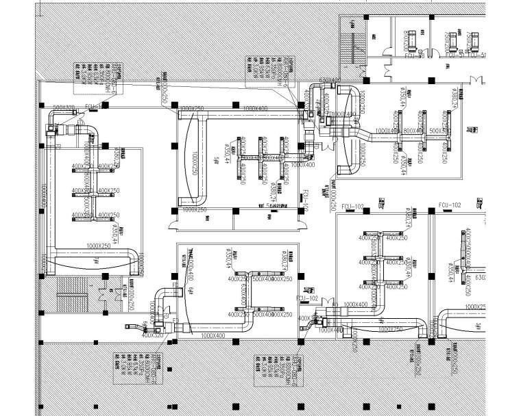 河南商丘电影院暖通设计(空调、消防)