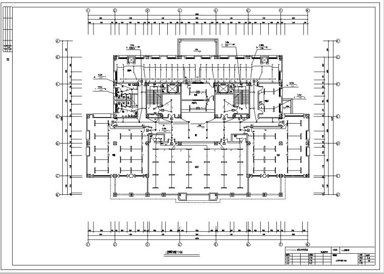 某大学图书馆电气设计图纸全套_6