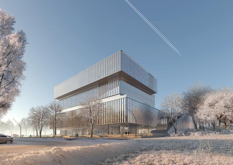 比利时可持续的Solvay国际办公总部-2