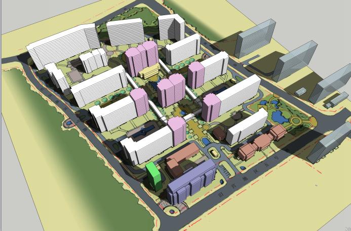 北京旧宫绿隔项目建筑设计方案文本