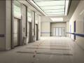 上海某大型医院室内装修设计方案及效果图(15张)