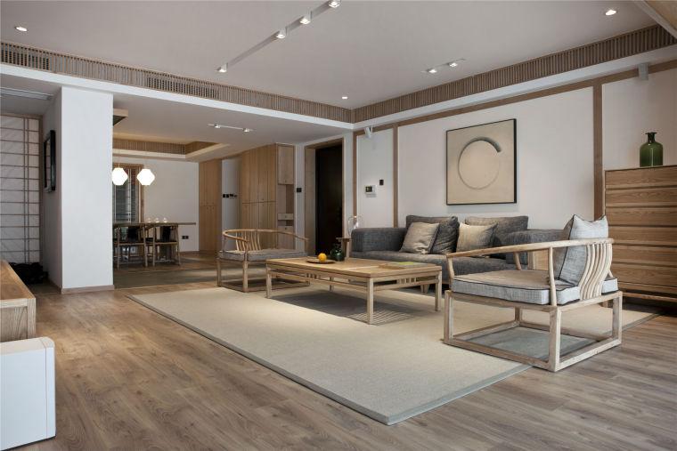 简单自然的中式风格住宅室内实景图 (30)