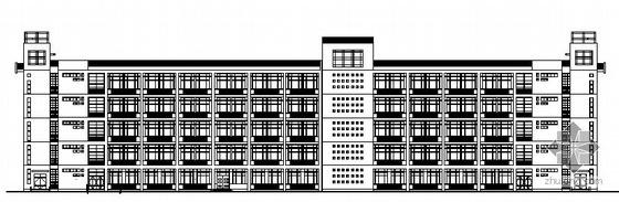 某五层水利职业技术学院教学楼建筑施工图