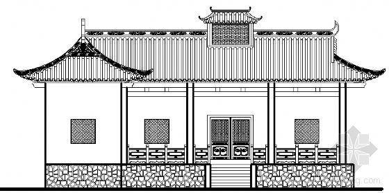 [永川]某电影外景用仿古建筑方案图