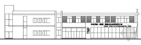 某三层厂房办公楼建筑施工图