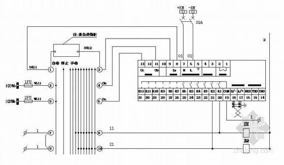 河南某焦化工程10KV电容补偿柜电气图纸-