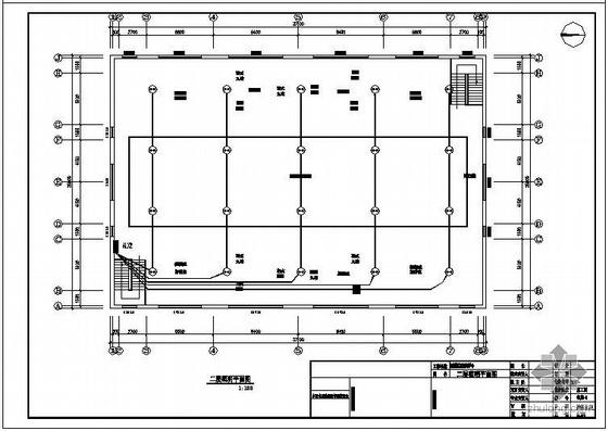 某生活基地钢结构活动中心全套图纸