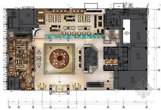 [常州]世界最大连锁五星级品牌酒店设计方案图