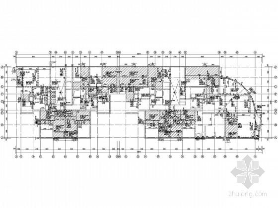 25层带地下室剪力墙商住楼结构施工图