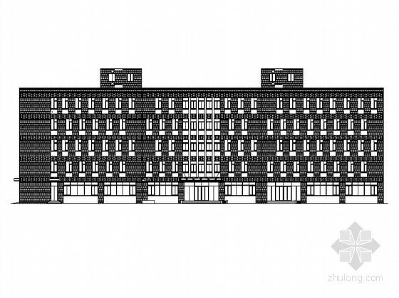 [杭州]某五层办公楼建筑方案图