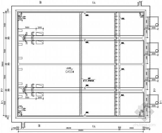 甘肃某城区全套污水厂初步设计方案及图纸