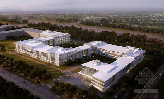 [北京]框剪结构及框架结构科研试验办公楼施工组织设计(长城杯)