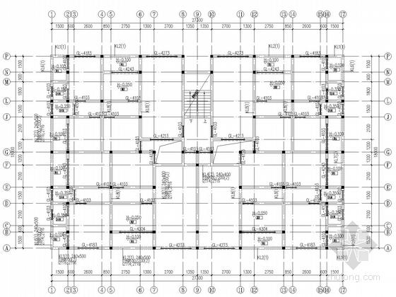 [重庆]6层私人住宅框架结构施工图