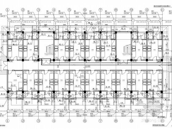 [重庆]多层宿舍楼给排水消防施工图