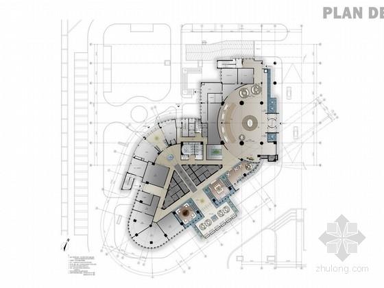 [无锡]CBD商务中心全球连锁五星级高档酒店概念设计方案