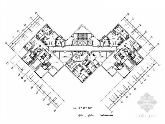 [上海]现代时尚双层别墅设计装修图