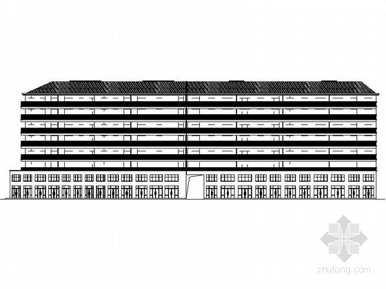 七层框架结构住宅建筑施工图(含商业建筑)