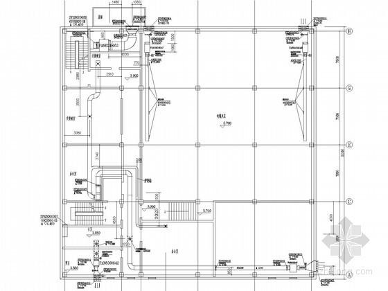 [浙江]办公楼空调及通风排烟系统设计施工图(多联变频空调系统)