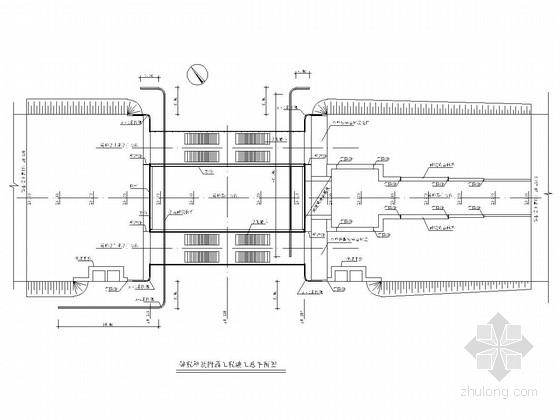 市政人行拱桥工程全套竣工图(49张)