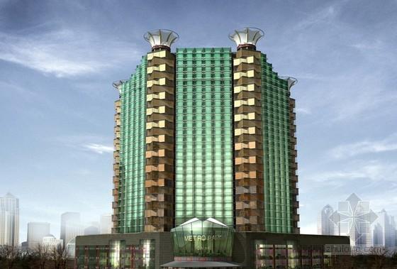 [北京]高层大厦内外装修工程加固改造方案(附节点施工图)