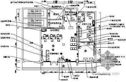 厦门东孚移动营业厅整修工程施工图