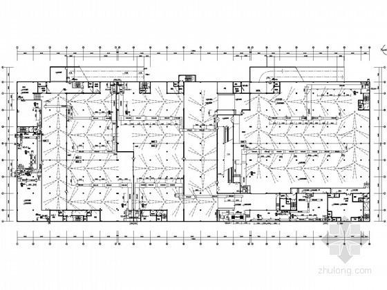[湖北]沃尔玛超市空调通风全套施工图纸