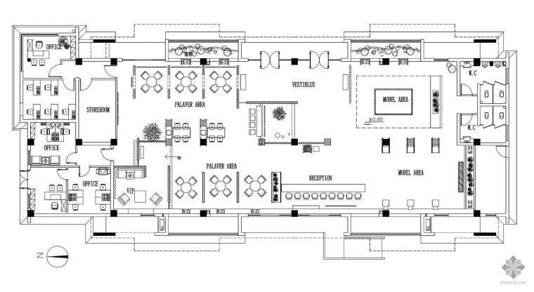 某大型展厅设计图赏析