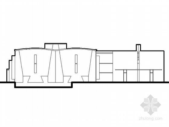 [重庆]某厂房改造建筑方案图(含CAD模型)