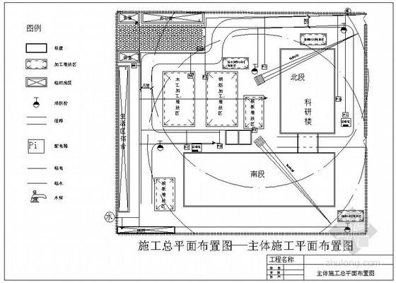 [北京]建筑工程施工平面布置图(多图)