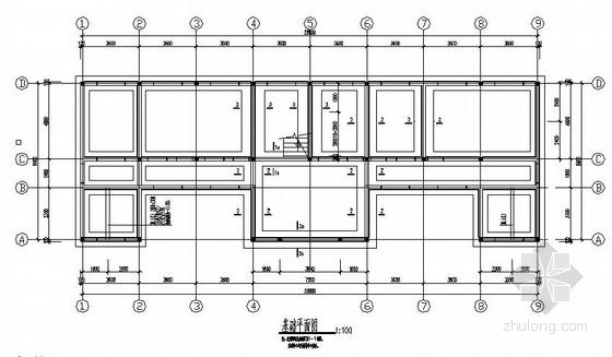 二层砌体结构派出所办公楼全套施工图