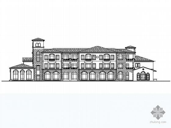 [哈尔滨]某欧式幼儿园建筑方案图