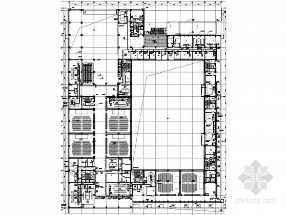 [贵州]国际大型展览中心通风空调设计施工图